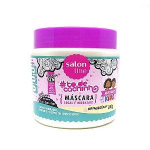 Mascara Salon Line To de Cachinhos Kids Molinhas 500grs
