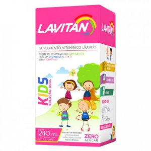 Lavitan Kids Tutti-Frutti 240mL -Cimed
