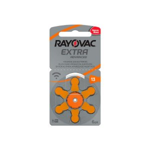 Pilha Rayovac Para Aparelho ADV Extra Tam.13 c/6 unid.