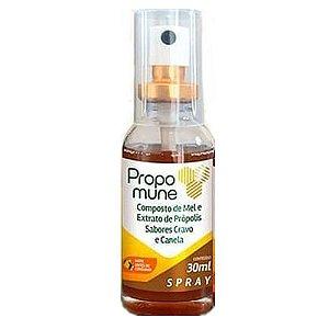 Spray Propomune propolis cravo e canela 30ml Maxinutri