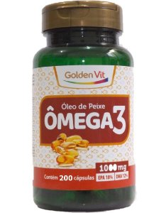 Omega 3 1000mg 200caps Golden Vit