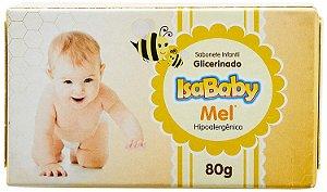 Sabonete Isababy Glicerinado Mel Hipoalergénico 80g