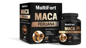 Maca Peruana Multifort 60cps Multinature