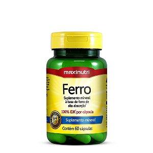 Ferro 100% IDR 60 Caps Maxinutri