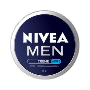 Creme Nivea Men 4 em 1 Rosto /Pós Barba /Mãos /Corpo 75g