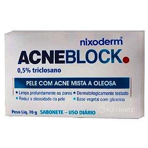 ACNEBLOCK SABONETE PELE COM ACNE MISTA E OLEOSO 70g