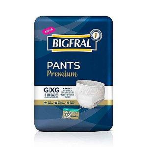 Fralda Bigfral Pants Premium G/XG 8unidades