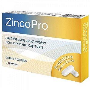 ACIDOFILLUS - ZINCOPRO 6CAPS MARJAN