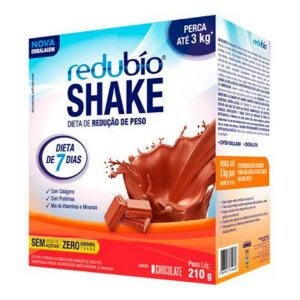 Redubío Shake Slim Sabor Chocolate com colágeno