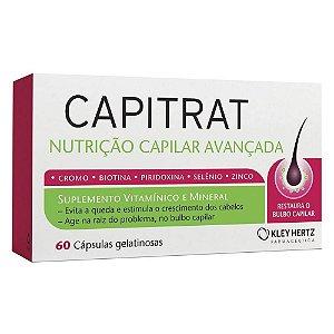 Capitrat Nutrição Avançada c/60 Capsulas Gelatinosas