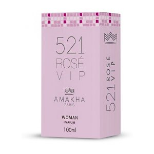 Perfume Amakha Paris 100ml Woman 521 Rose Vip