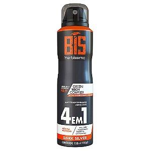 Desodorante Herbissimo Aerosol Masculino Dark Silver 150ml