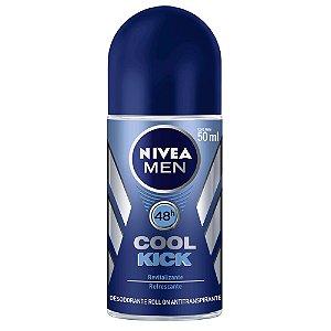 Desodorante Nivea Roll-On 50ml For Men Cool Kick