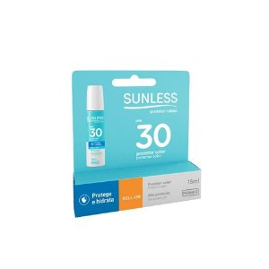 Protetor Solar Labial Sunless FPS30 15ml