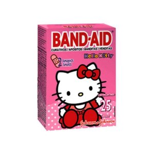 Band Aid Hello Kitty c/ 25 unid