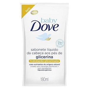 Sabonete Dove Baby Gliceinado Hipoalergênico 180ml Refil