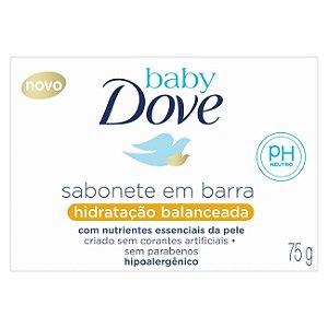 Sabonete Dove Baby Hidratacão Balanceada Glicerina 75gr