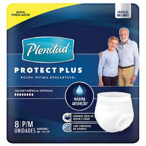 Fralda Plenitud Pants Protect Plus P/M c/8 unid.