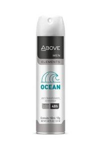 Desodorante Above Aerosol Men Elements Ocean 150ml