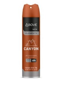 Desodorante Above Aerosol Men Canyon 150ml/90g