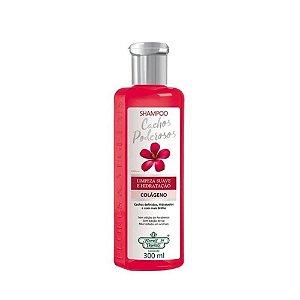 Shampoo Flores e Vegetais 300ml Cachos Poderosos