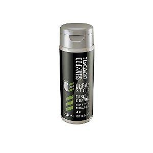 Shampoo Energizante Urban Style Cabelo E Barba 200ml