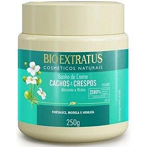 Banho de Creme Bio Extratus Cachos e Crepos 250gr