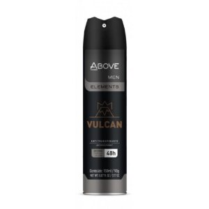 Desodorante Above Aerosol Men Vulcan 150ml/90g