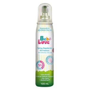 Repelente Bebe Love Spray Infantil 100ml Nutriex