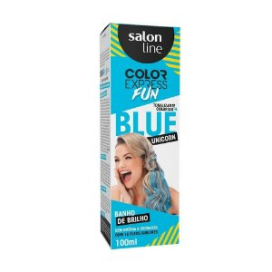 Tonalizante Salon Line Color Express Blue Unicorn 100g