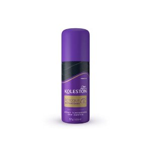 Koleston Retoque Spray Instantâneo Preto 57g/100ml