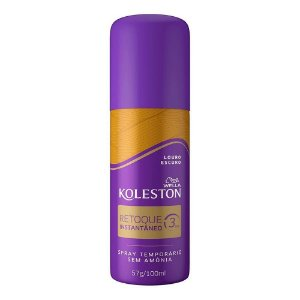 Koleston Retoque Spray Instantâneo Louro Escuro 57g/100ml
