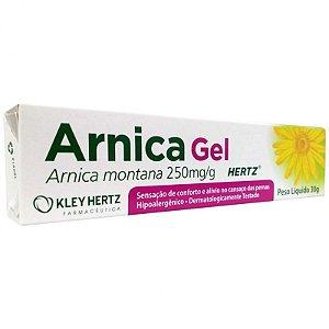 Arnica Gel Hidratante Para as Pernas 30g - kley Hertz