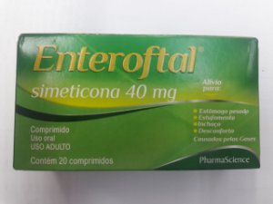 SIMETICONA 40mg 20cpr - Enteroftal PHARMASCIENCE