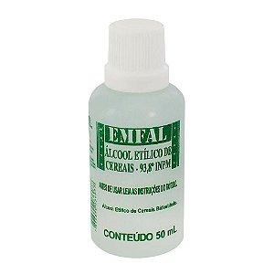 Alcool  de Cereais 50ml Emfal