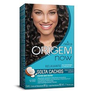 Relaxante Origem Now Solta Cachos c/ Oleo de Coco 80G