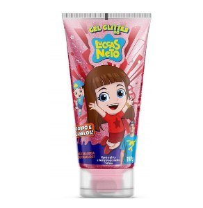 Gel Glitter do Luccas Neto Corpo e Cabelos Kids 180gr