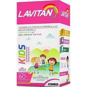 Lavitan Kids Vitaminas 60Cpr Mastigável Tutti Frutti