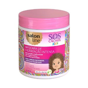 Mascara de Hidratação Intensa SOS Cachos Kids 500g