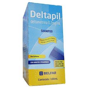 DELTAMETRINA SH 100ML - DELTAPIL