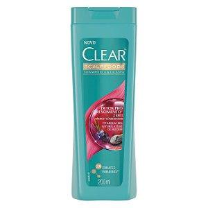 Shampoo Clear 2 em 1  Anticaspa 200ml Detox Pró Crescimento
