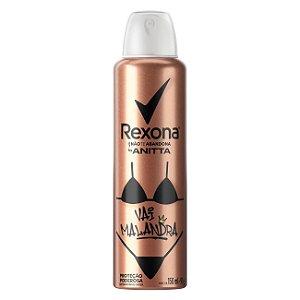 Desodorante Rexona Aerosol Anitta Vai Malandra 150ml /91g