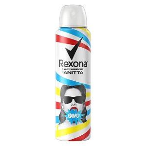 Desodorante Rexona Aerosol Anitta Bang 150ml/ 91g