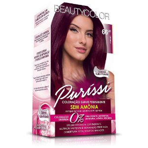 Tintura Beauty Color Puríssi Sem Amônia 66.26 Marsala