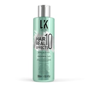 Shampoo Lokenzzi Cachos Hair Real 10 Effects 300ml verde