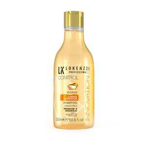 Shampoo Lokenzzi Vegano Aumenta a Densidade 320ml