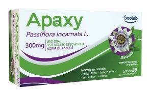 Passiflora - Apaxy 300mg 20cpr rev Geolab