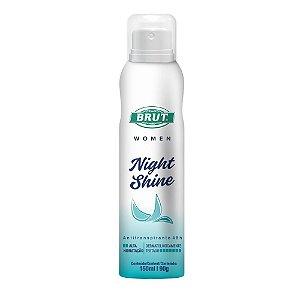 Desodorante Brut Aerosol Women Night Shine 150ml/90g