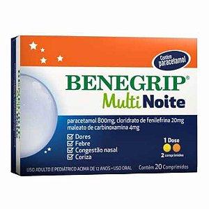 Benegrip Multi Noite 20 Comprimidos