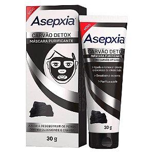 Asepxia Detox Mascara Peel Off Carvão 30g